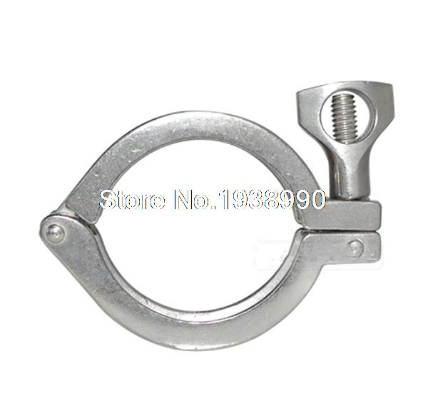 2 Tri Clamp Clover 304 Stainless Steel Heavy Duty Fits TriClamp Ferrule OD 64MM утюг redmond ri c265s 2500вт серый серебристый