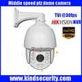 "7"" 1080P HD TVI IR middle speed PTZ dome Camera HD TVI Dome Camera With 8pcs Leds 120M Night vision 20X Optical Zoom"