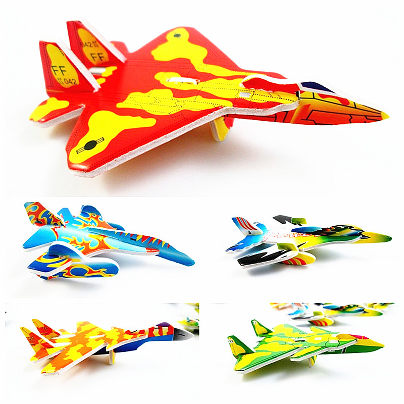 1pcs 3d Aircraft Fighter Blocks Diy Building Single Bricks Parts Accessory Construct Magnet Model Educational Toys