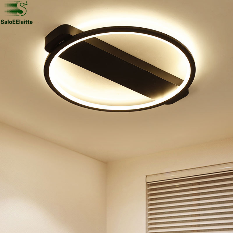 Nordic Bedroom Round Led Luminaria Ceiling Light Modern Minimalism Led Ceiling Lamp For Bedroom Indoor Lighting Fixtures Lampara