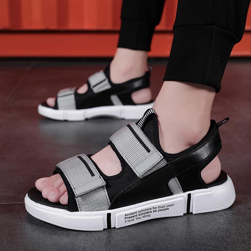 Bonjean Gladiator Men Sandals Summer New Fashion Men Casual Shoes Soft Flats Azy Shoes Loafer Flip Flop Popular Outdoor Sandals