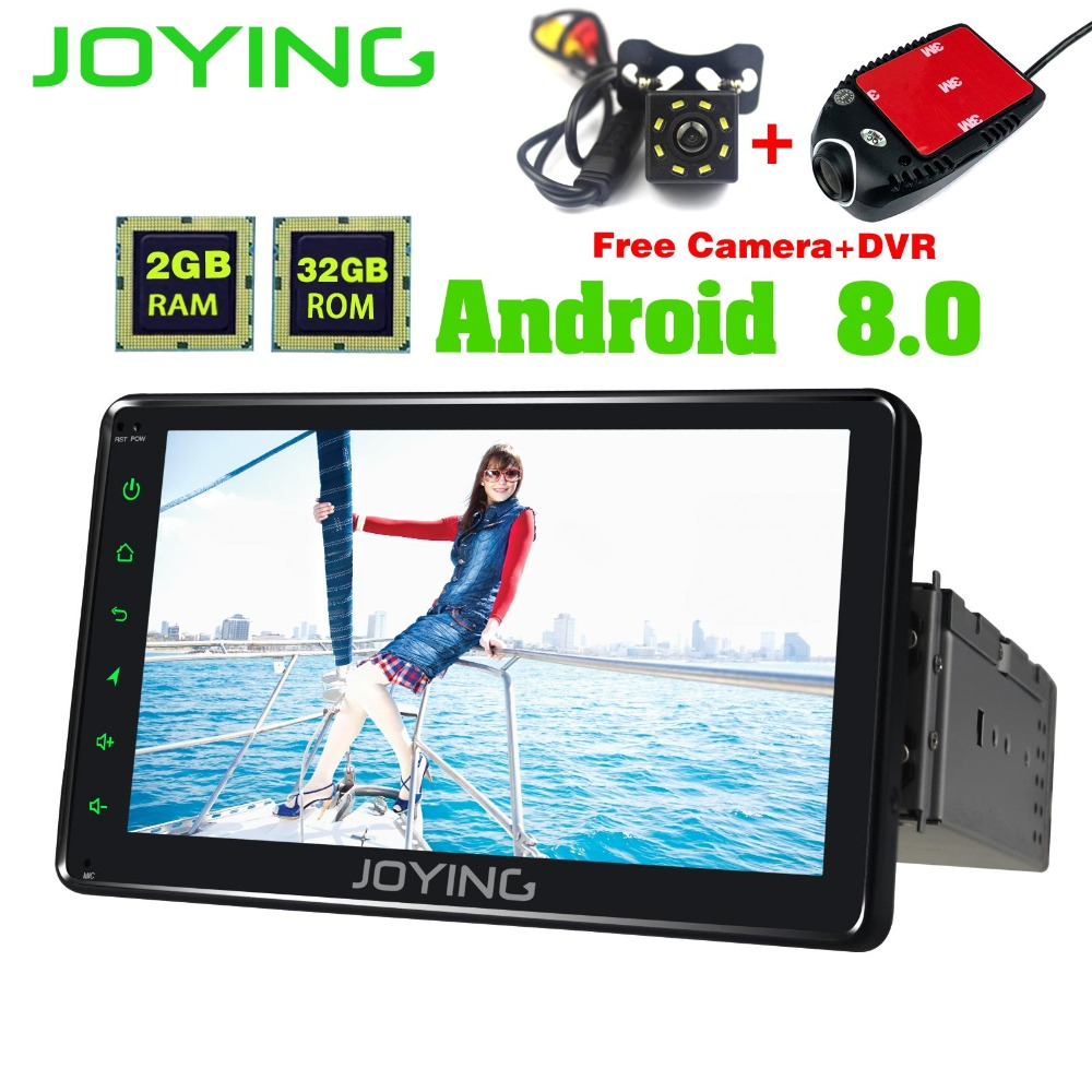 7 PX5 JOYING Single Din Multimedia Player Head Unit Universal Android Car Radio Stereo Tape Recorder Support Cameras OBD2 Zlink