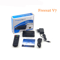 FREESAT V7 Satellite Receiver TV Box Tuner DVB S2 Media Player 1080P FULL HD Support Cccam