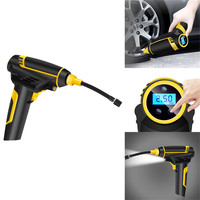 Franchise Car Compressor Tire Inflatable Pump Auto Cordless Handheld Mini Electric Tyre Inflator 120W Air Compressors Cars Tires