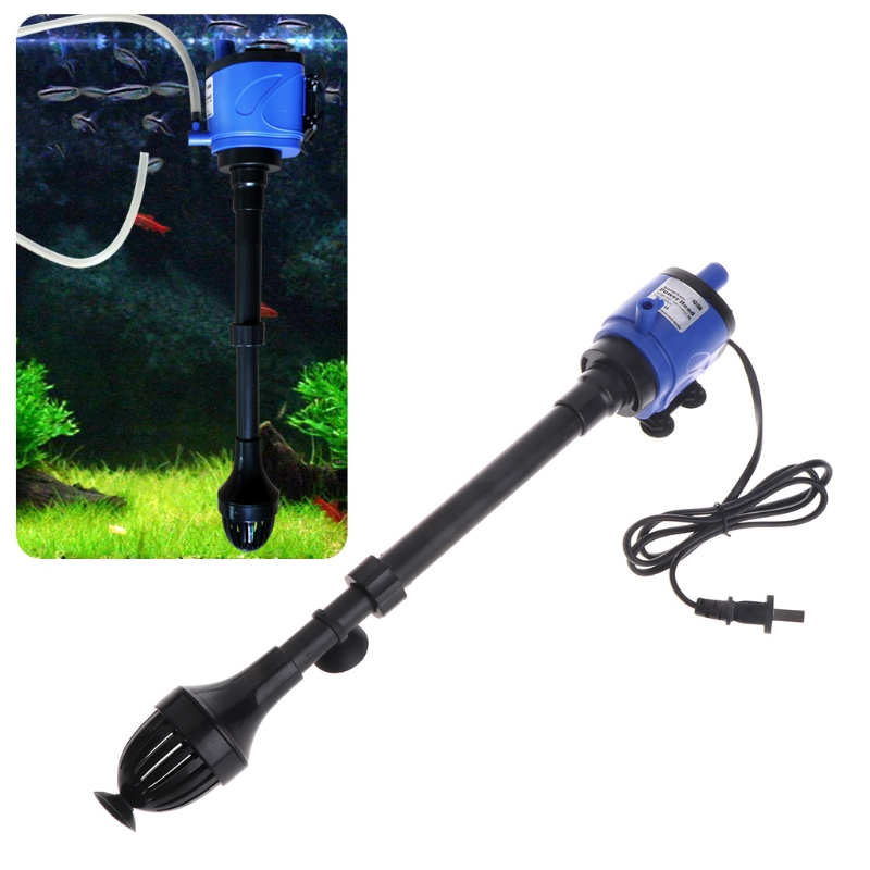 New New 3 in 1 Aquarium Filter Water Pump Wave Maker Internal Fish Tank Oxygen Circulate ...