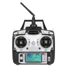 F14912/3 FS T6 2.4 ghz 6ch modo 2/1 transmissor e receptor R6 B para rc quadcopter helicóptero com tela led