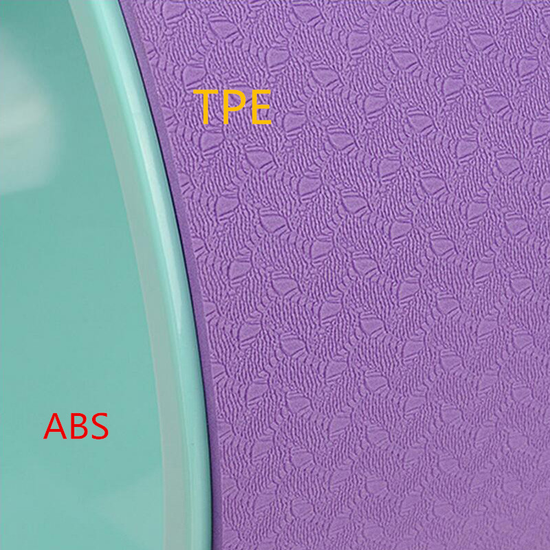 4 χρώματα TPE Γιόγκα Κύκλος Τροχός Pilates - Fitness και bodybuilding - Φωτογραφία 4