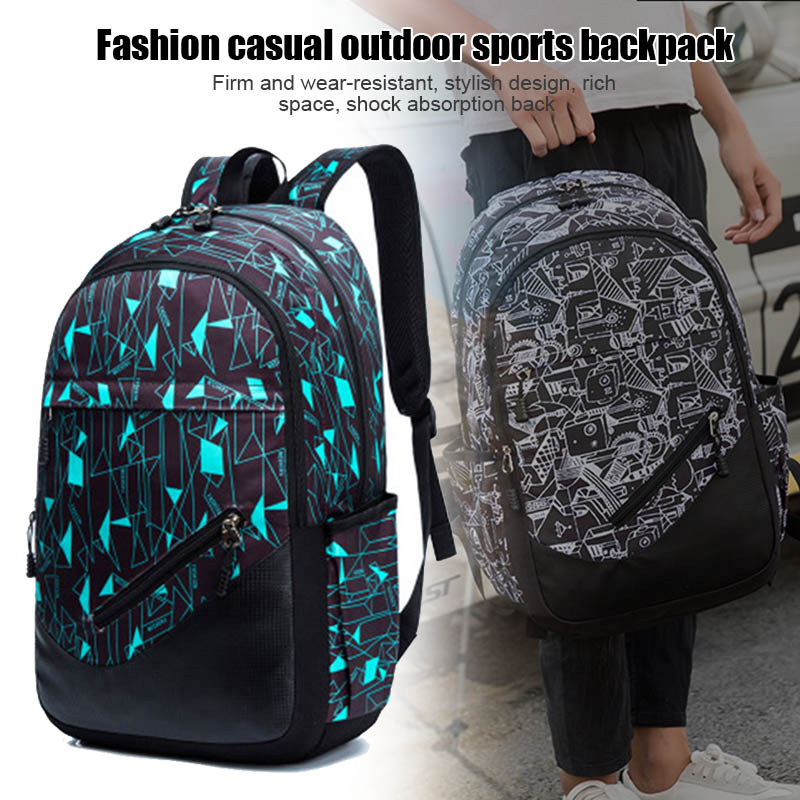 Backpack City Schoolbag Large-Capacity Outdoor Waterproof for Student Xr-Hot Knapsack