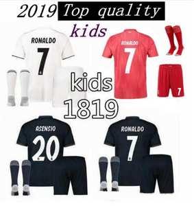 Reals Madrided kids football shirt ronaldo Soccer jersey 5ab6cc12d