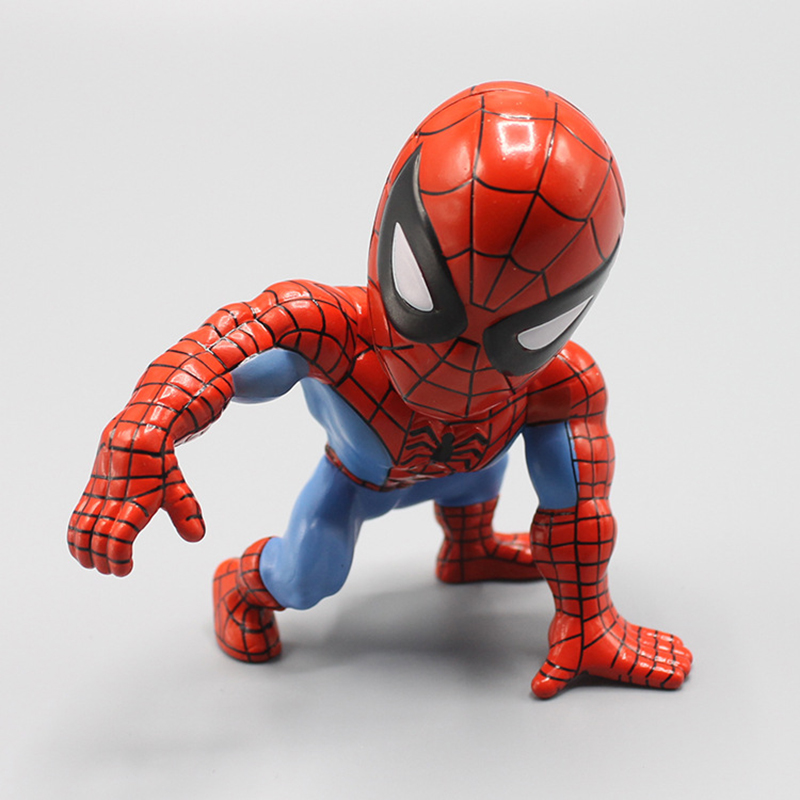 font-b-marvel-b-font-the-avengers-figure-spiderman-action-figure-bobble-head-doll-toy-10cm