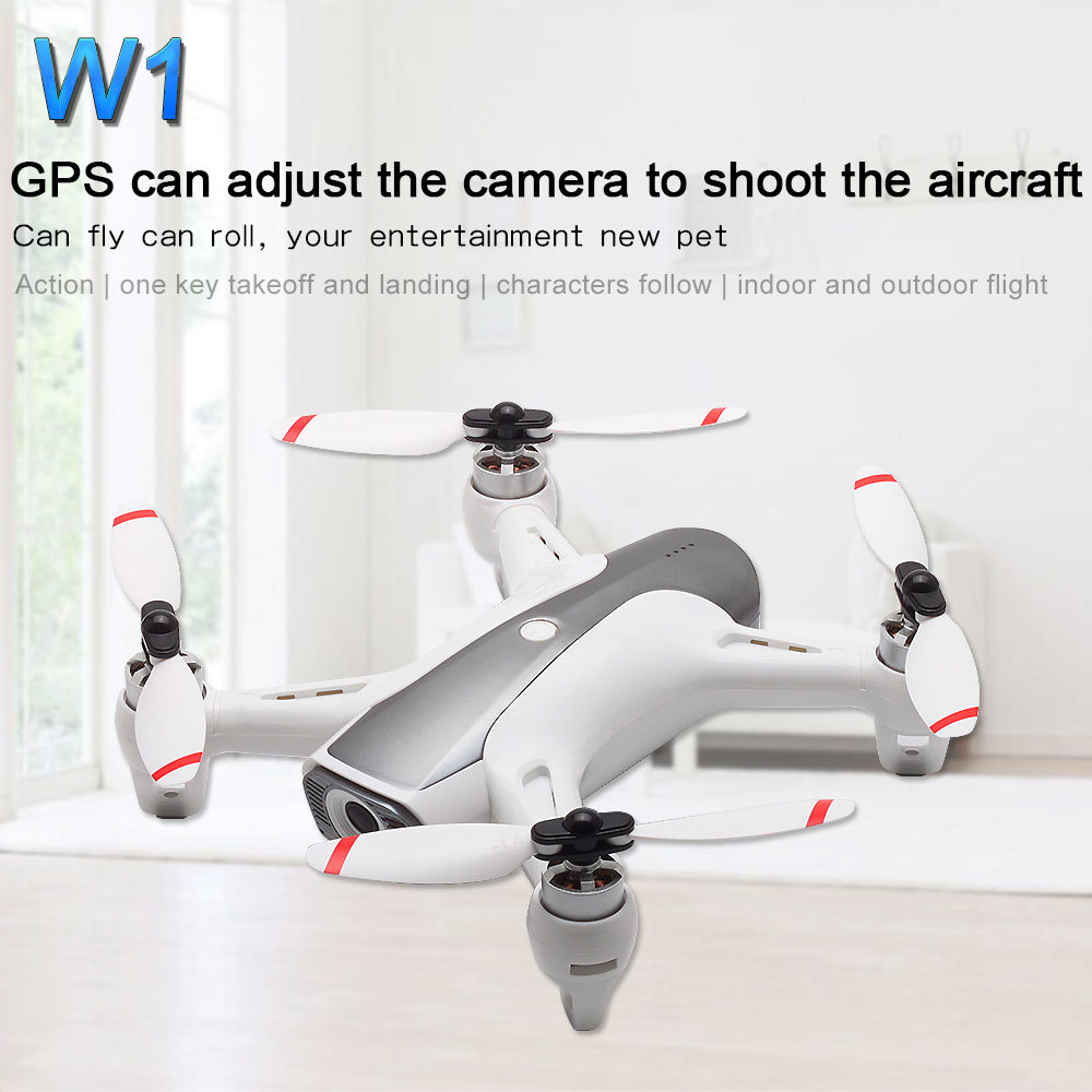Image 2 - Newest Syma W1 Drone Gps 5g Wifi Fpv With 1080p Hd Adjustable Camera Following Me Mode Gestures Rc Quadcopter Vs F11 Sg906 Dron-in RC Helicopters from Toys & Hobbies