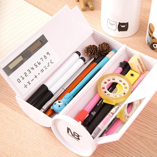 Double Layer kawaii Pen Box