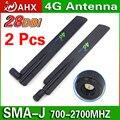 2 ШТ. LTE 4 Г Антенна 3 Г беспроводной маршрутизатор антенны полный антенна с высоким коэффициентом усиления супер приемник Бесплатная доставка