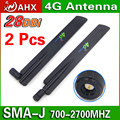2 UNIDS LTE 4G Antena 3G router inalámbrico aérea antena de alta ganancia completa super receptor Envío gratis