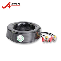 ANRAN BNC Video Power Siamese Cable 65ft 18 3m For Analog AHD CCTV Camera DVR Kit