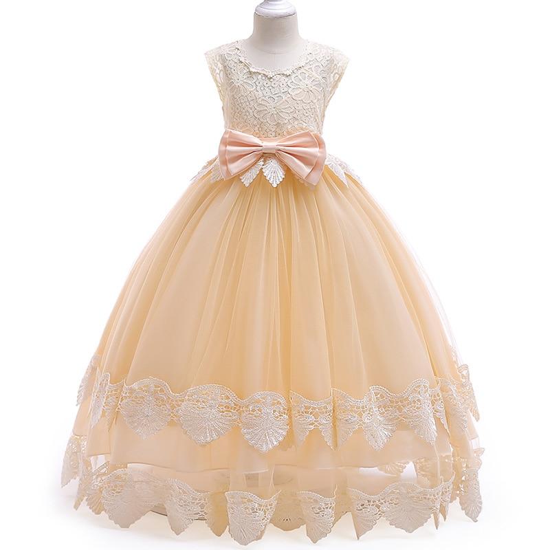 Girls first communion dresses girls flower dresses children weddings prom ball gown dresses kids child costume vestido comunion in Flower Girl Dresses from Weddings Events
