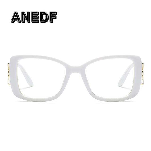 ANEDF Square Big Glasses Frames Vintage Women Unique  Brand Designer Optical EyeGlasses Fashion Eyewear Men