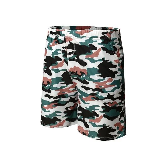 2019 Shorts Men Camouflage New Style Cotton Multi-Pocket Overalls Shorts Fashion Spodenki Pantalones Cortos Short Masculino