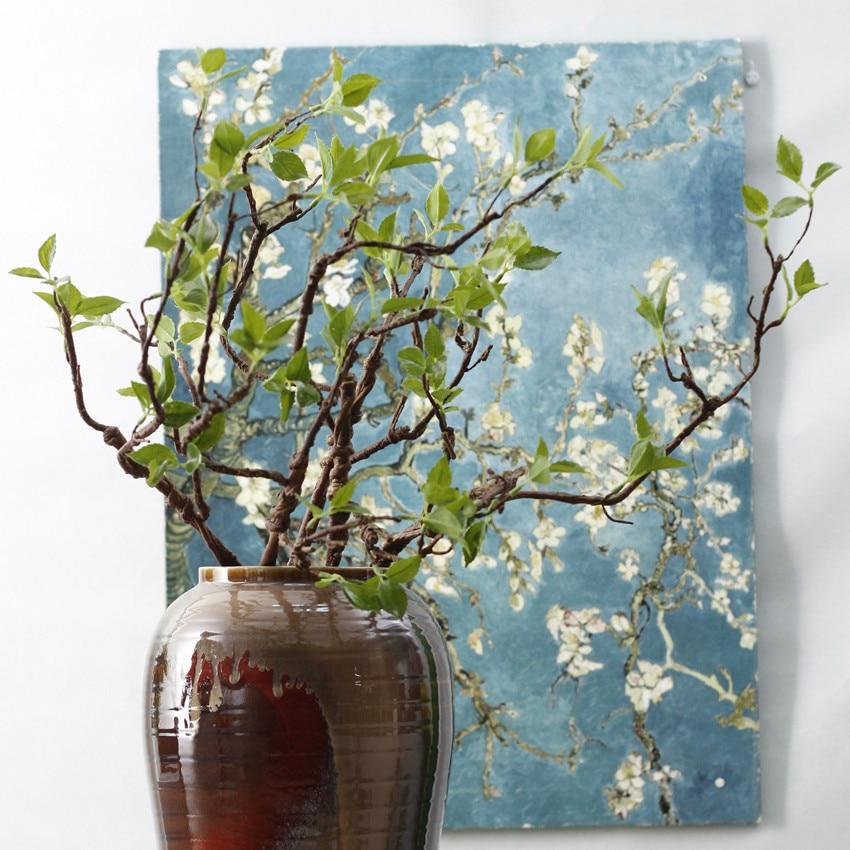 13 Heads Fake Leaves Artificial Home Plants Adiantum Vine Flower Decoration