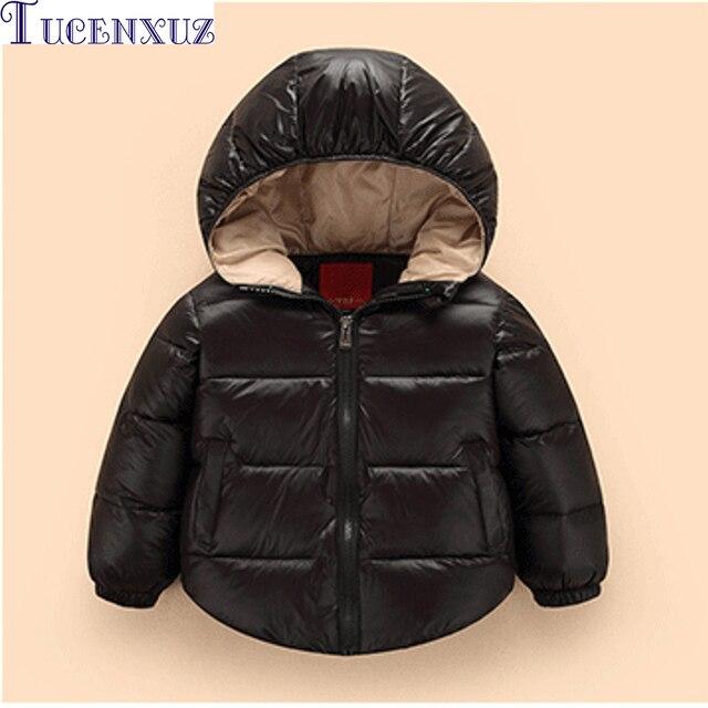 Kinderkleding Winterjas.Eenvoudige Ontwerp Winterjas Voor Jongens Meisjes Jas Kinderen