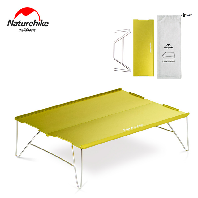 Phenomenal Us 24 5 30 Off Naturehike Aluminum Alloy Table Outdoor Durable Light Folding Stainless Steel Desk Camping Portable Tea Table 2 Colors In Outdoor Home Remodeling Inspirations Basidirectenergyitoicom