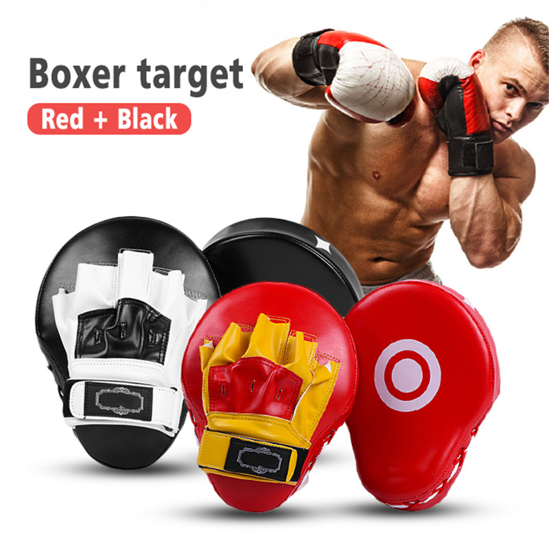 1pc Martial Arts Sanda Boxing Training Target Focus Punch Pad Sandbags Kick Boxing Karate Muay Punching Bag for Boxing