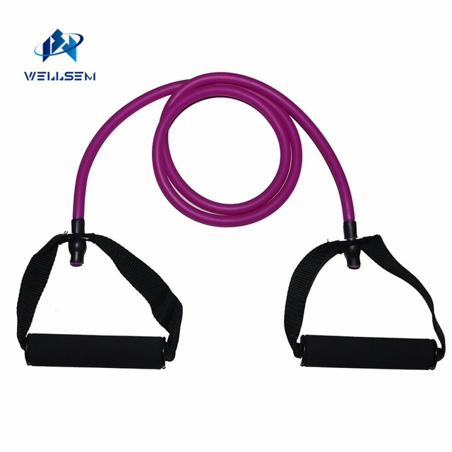 Rope Resistance Training Elastic Bands Tubes for Yoga Fitness