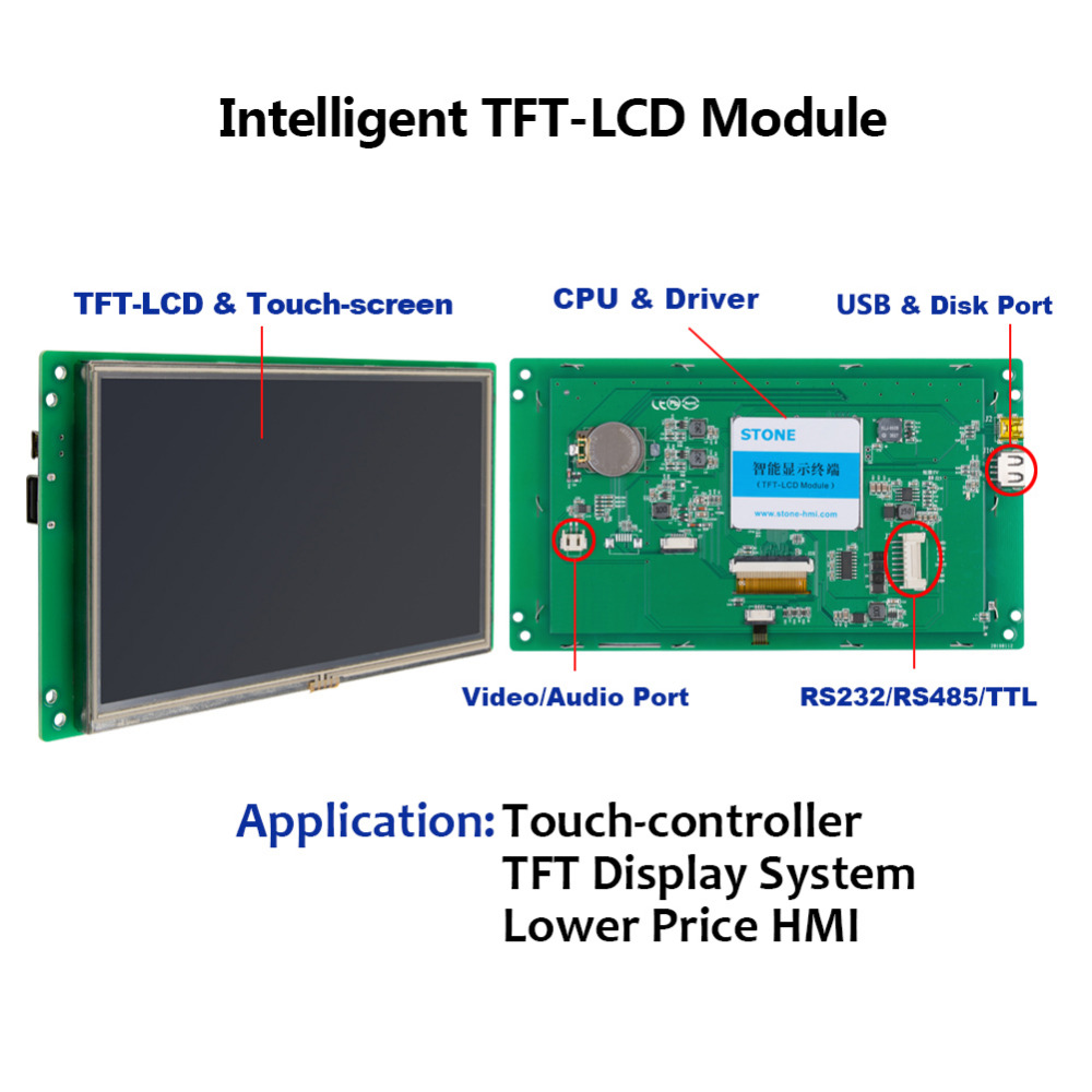 10 4 quot TFT LCD Touch Monitor High Bright in LCD Modules from Electronic Components amp Supplies