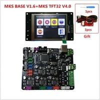 3d printer starter kit mother board MKS BASE + MKS TFT32 V4.0 touch screen all in one controller imprimante Reprap control panel