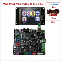 3d printer starter kit mother board MKS BASE + MKS TFT32 V4.0 touch screen all in one controller imprimante Reprap control panel
