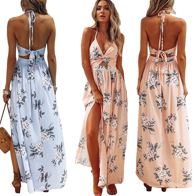 2018 Sexy Floral Cover Up White Black Swimwear Cover Up Long Beach Dress Ladies Bathing Suits Cover-Ups Beach Wear