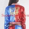 Бэтмен Харли Квинн Косплей Костюмы Женщина Пальто Femme Куртки Chamarras Де Бэтмен Пункт Mujer Суперзвезда Города
