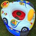 Веселые дети надувной бассейн седло поплавок Aairplane стиль лодка с рог