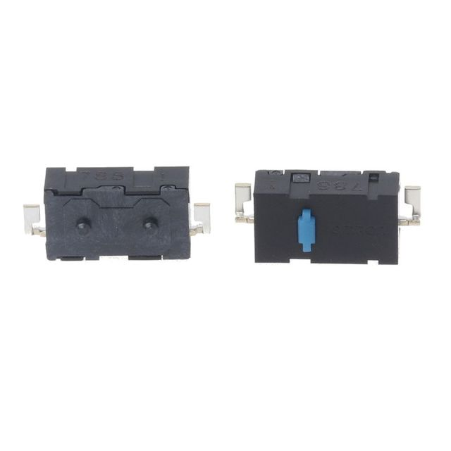 85c301f50fc 2 Pcs Original Omron Mouse Micro Switch Mouse Button Blue Dot Side Button  for Anywhere MX Logitech M905 G502 G900 ZIP