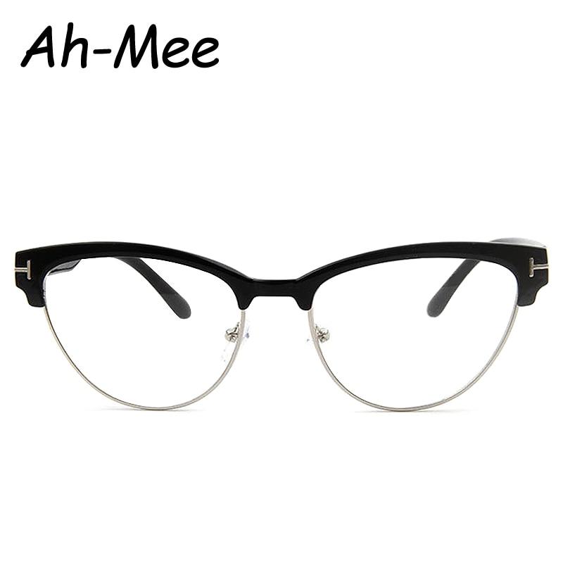 Vintage Brillen Frauen Markendesigner Katzenauge Nerd Brille ...