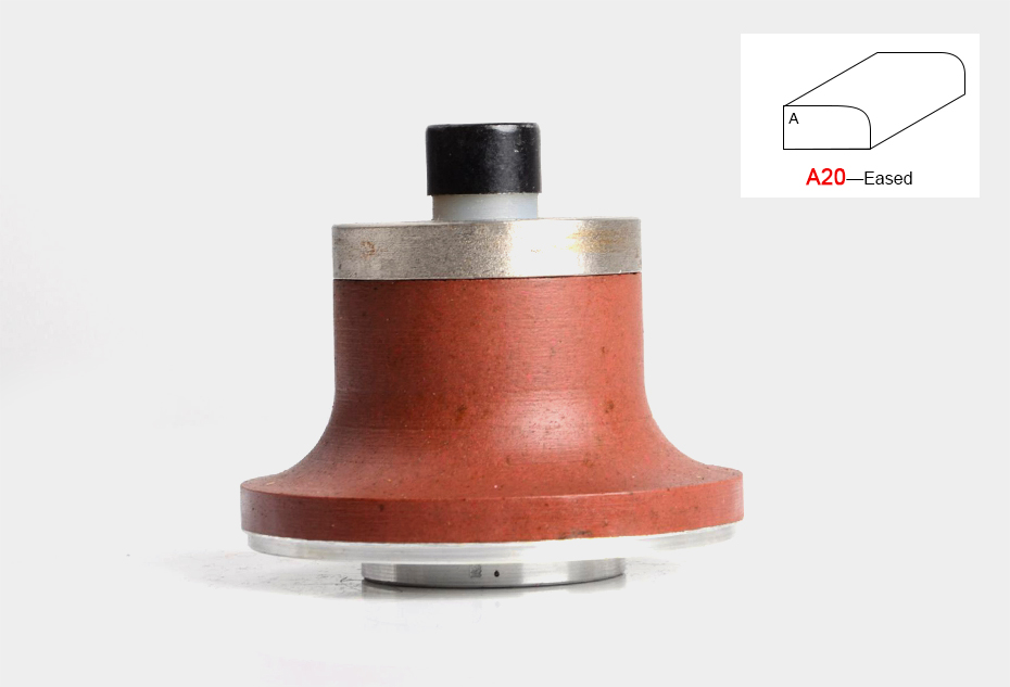 A20 diamond router bit wheels with M10 arbor diamond grinding wheels for granite and marble