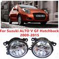 Для Suzuki ALTO V GF хэтчбек 2009 - 2015 10 Вт противотуманные фары из светодиодов DRL дневные ходовые огни стайлинга автомобилей лампы