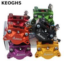 KEOGHS Adelin Adl10 Motorcycle Brake Caliper 2 Piston 84MM Cnc Aluminum Disk Brake System For Motorbike Modification For Honda
