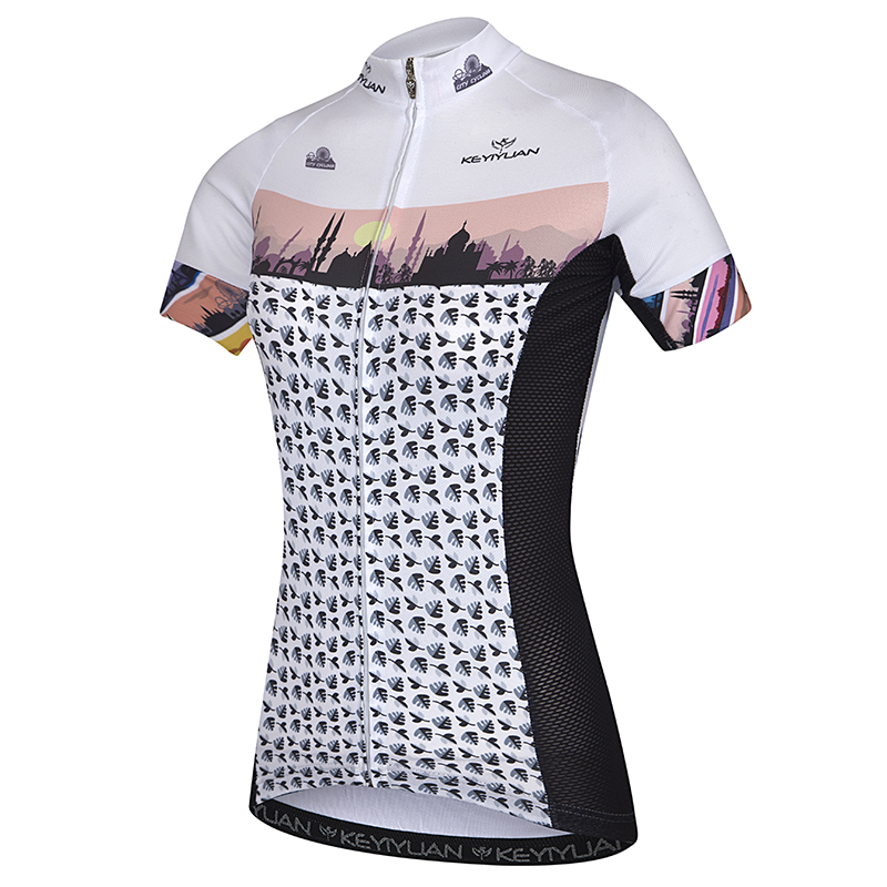 KEYIYUAN cycling coat female summer sun mountain bike riding clothes breathable quick-drying outdoor sportswear and equipment mo