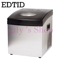 Taşınabilir Otomatik elektrikli buz Makinesi Ev mini kare şekli buz yapma makinesi 20 kg/24 H ev aile küçük bar coffee shop