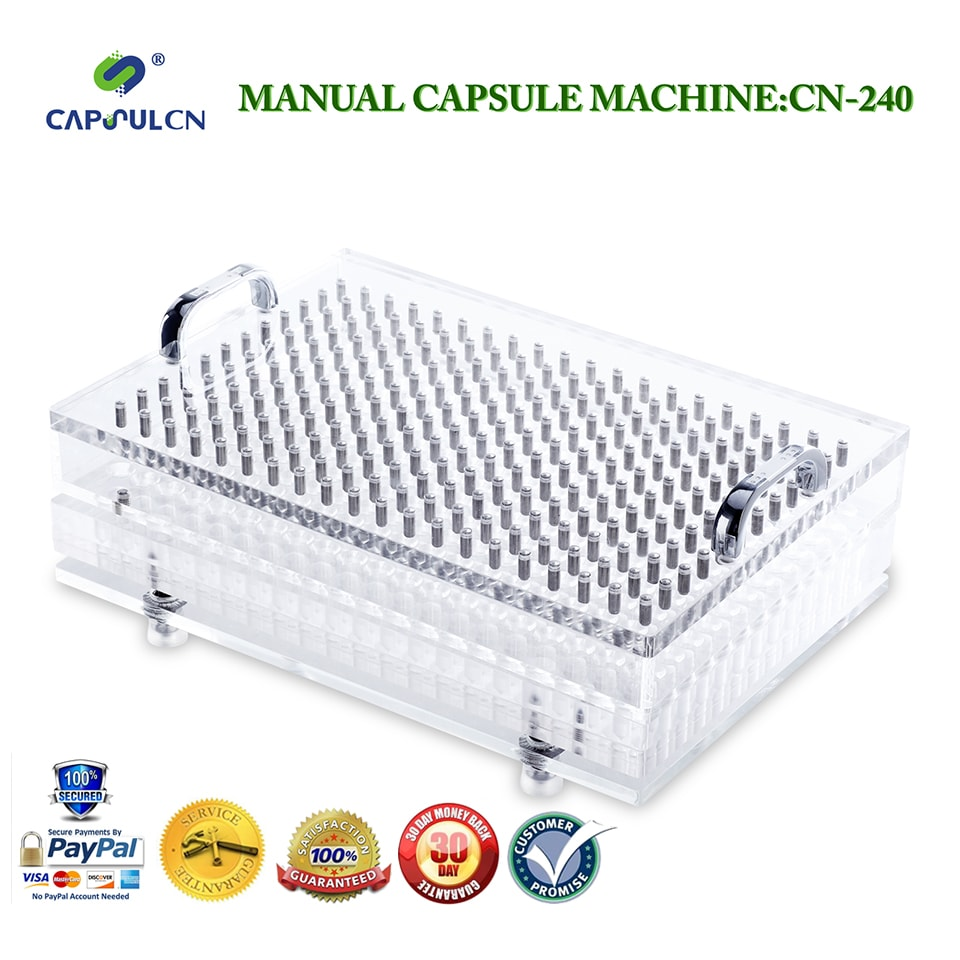 New Design 240 cavity capsule filling machine,powder capsule filler with tamping tool,can be customized for 000# -5#