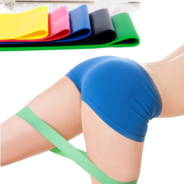 Natural Latex 5 Levels Resistance Bands