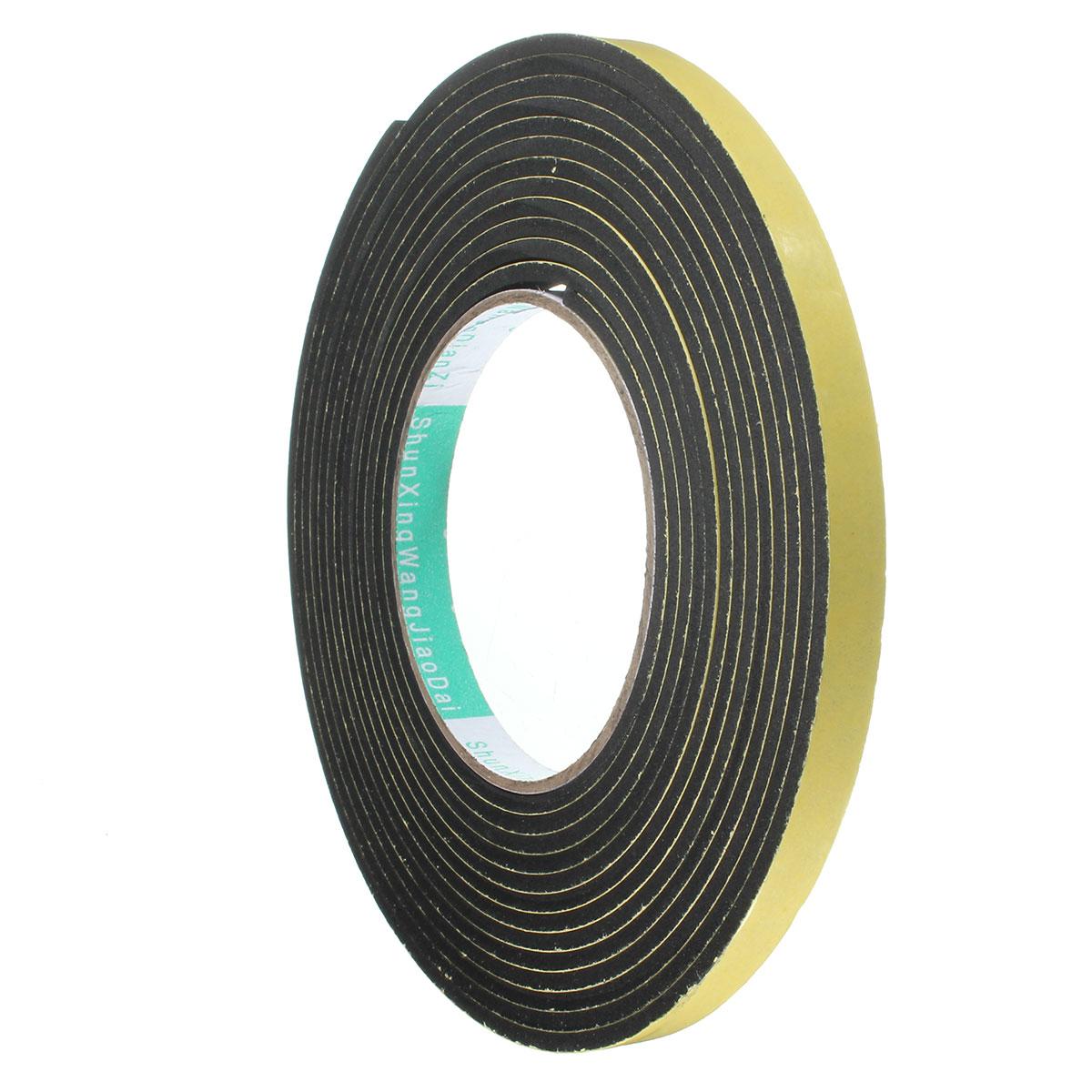 Window Door Foam Adhesive Strip Sealing Tape Adhesive Rubber Weather Strip/_DM