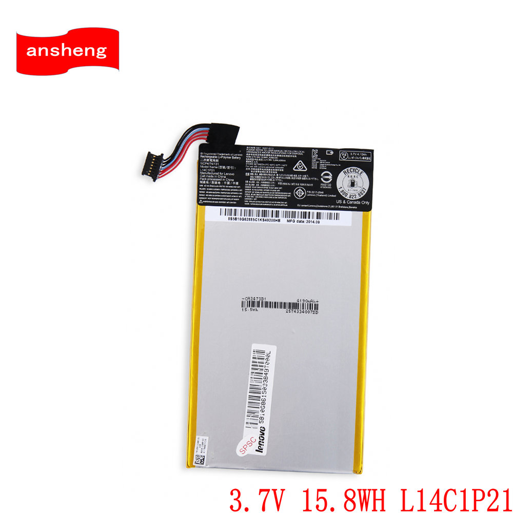 Cellphones & Telecommunications High Quality 3.7v 15.8wh L14c1p21 4280mah Battery For Lenovo Miix 3 Miix3-830 Series Battery