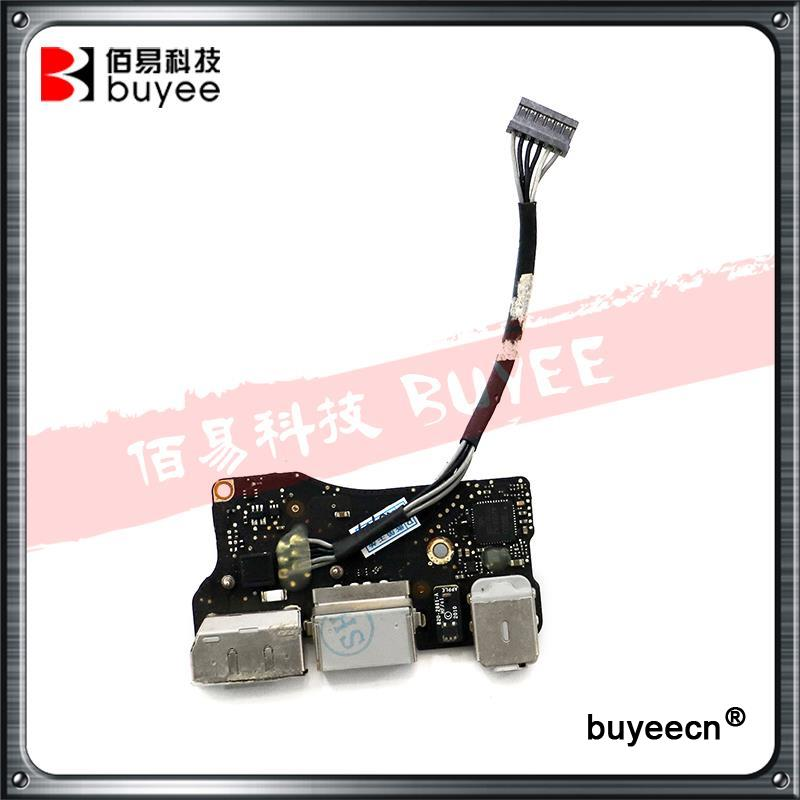 все цены на Genuine A1369 Power Supply Board 2011 Year For Macbook Air 13'' 820-3057-A Power Audio Jack MC965 MC508 Laptop Parts онлайн