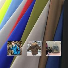 1*1,5 м Водонепроницаемый Простой персик кожа ткань pu белое пальто Блейзер Куртка ткань скалолазание костюм ткань
