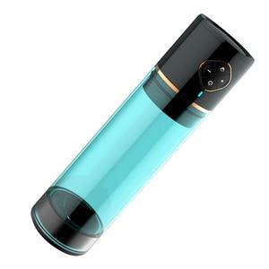 Image 2 - 充電式水浴電動ペニスポンプ真空援助インポテンスヘルパー勃起自動エクステンダー陰茎の拡大ポンプ