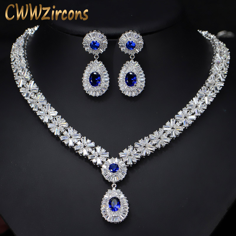 6 Colors High Quality African CZ Beads Big Red Green Blue Cubic Zirconia Luxury Women Jewelry