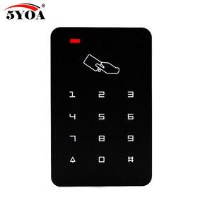 Image 5 - Samodzielny kontroler dostępu z 10 sztuk EM breloki do kluczy RFID klawiatura kontroli dostępu wyświetlacz cyfrowy czytnik kart dla system blokady drzwi
