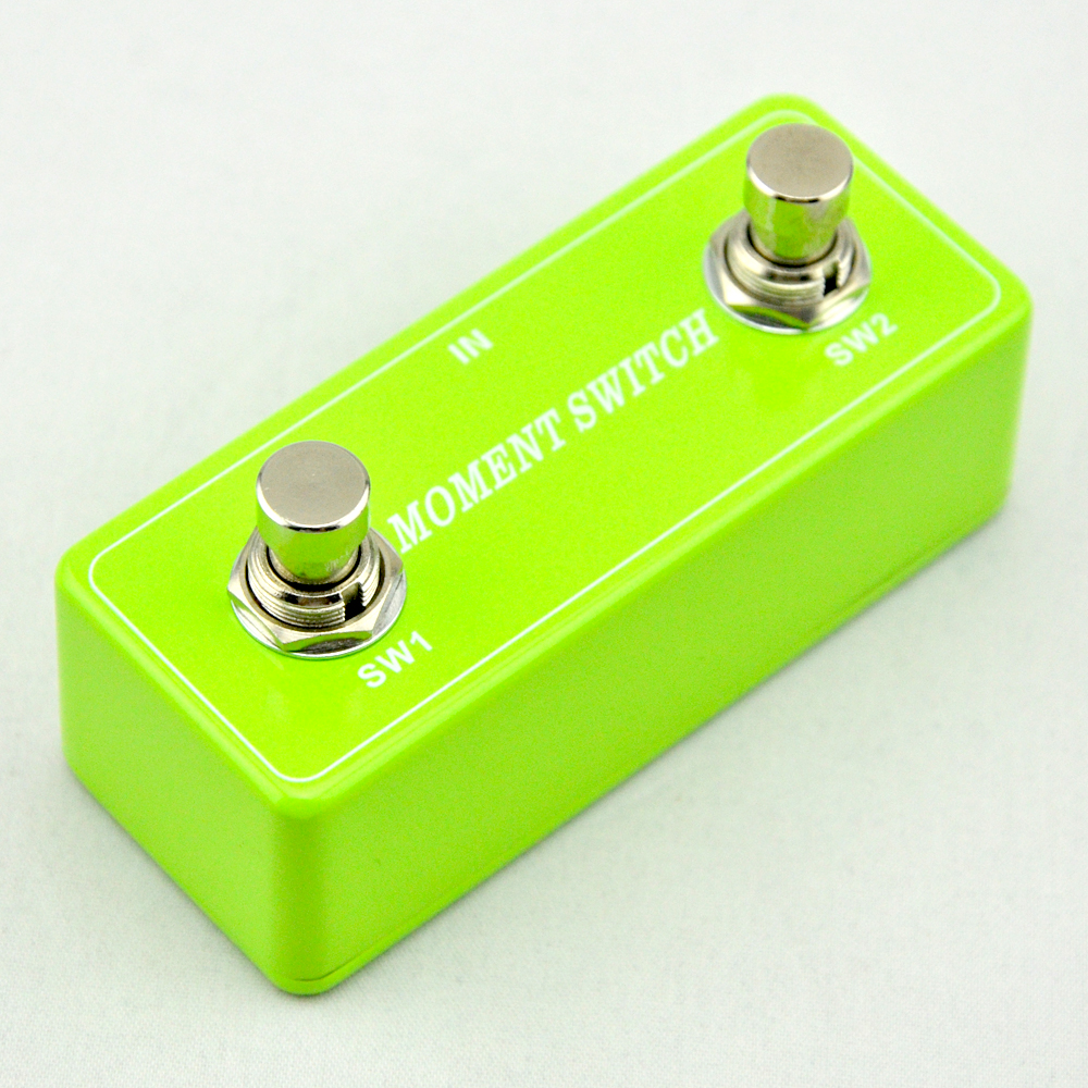 NEW Guitar Momentary footswitch&pedal  Foot Switch Guitar Effects Pedal Metal Stomp Box  electric guitar parts and accessories 1pc spst momentary soft touch push button stomp foot pedal electric guitar switch m126 hot sale